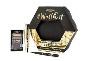 L'Oreal Paris Mascara, Eyeshadow and Eyeliner Make up Gift Set for Her