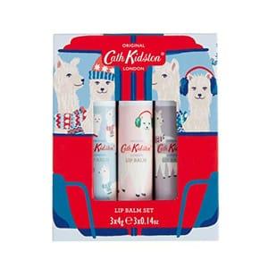 Cath Kidston Alpacas Lip Balm Set 3 X 4g Amazon 24 Hour Deal.
