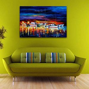 MISPRICE? Boat Oil Paintings - Only £2.20!