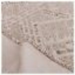 Square Cotton Linen Fashion Newspaper Printed Washable Tablecloth Vintage
