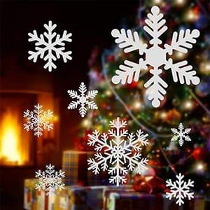 MISPRICE? Christmas Snowflake Window Stickers