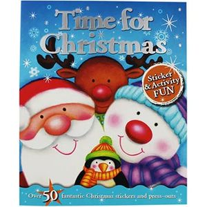 Time for Christmas - Sticker and Activity Book