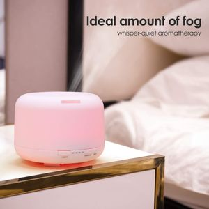 500ml Ultrasonic Aroma Essential Oil Diffuser Humidifier, 7 Colours!