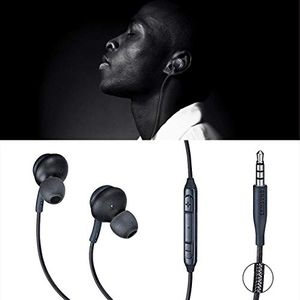 Deep Bass Earbuds Microphone Volume Control Wired Headset for Samsung S8/S8 Plus