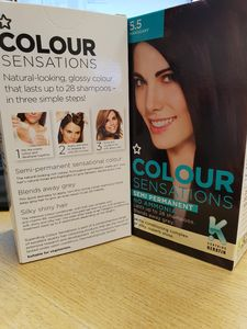 IN STORE ONLY 5.5 Mahogany Hair Dye