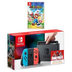 Nintendo Switch Mario + Rabbids Kingdom Battle Pack Only £309.99