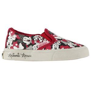 Minnie Mouse Character Canvas Slip on Shoe Infants - (SIZE 6-13)