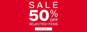 Exclusive £10 off When You Spend £45 in the up to 50% Cyber Monday Sale