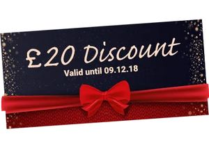 £20 off When You Spend £119 or More