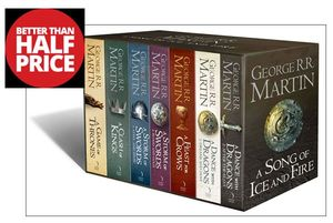 A Song of Ice and Fire, 7 Volumes BOX SET. Better than 1/2 Price!