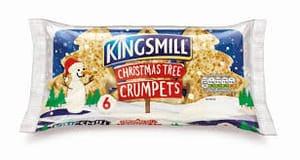 Kingsmill Christmas Tree 6 Crumpets