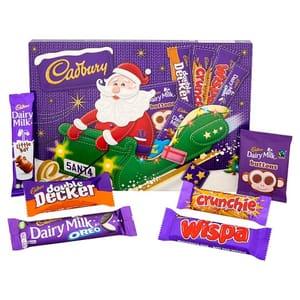 Cadbury Chocolate Snowman/Santa Medium Selection Box 169g