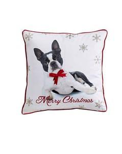 Christmas Dog Cushion Cover