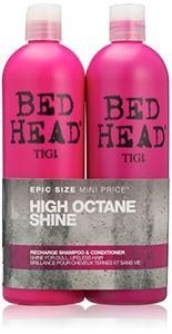 BED HEAD by TIGI High Octane Shine Recharge Shampoo and Conditioner - 750 Ml