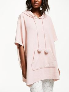 REDUCED TO CLEAR at John Lewis: Pink Fleece Poncho