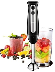 Hand Blender, Aicok 400W 2-in-1 Immersion Blenders with 700ml Beaker