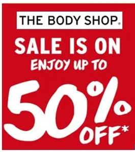 Love Body Shop? LOVE HALF PRICE?