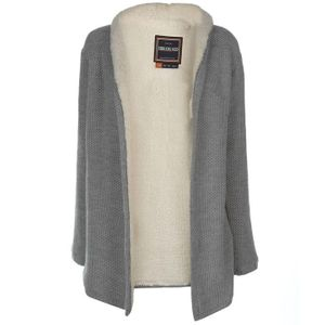 Pre-Order SoulCal Open Long Sleeve Knit Cardigan Ladies