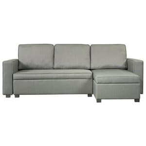 Argos Home Eddie Reversible Storage Sofa Bed - Charcoal