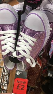 Gorgeous Glitter Pumps - Instore Asda - Was £11 Now £2