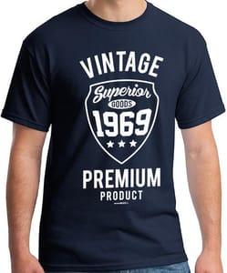 Only 99p - Vintage Premium 1969 Mens T-Shirt