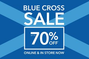 Debenhams up to 70% off Blue Cross Sale