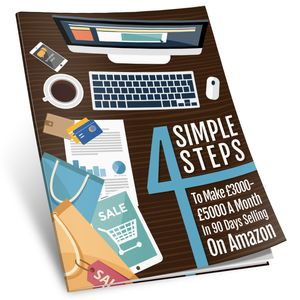 Free Guide Book - 4 Simple Steps to Selling on Amazon