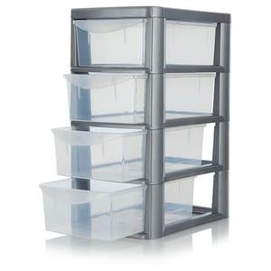 Small 4 Drawer Storage Unit Free C&C