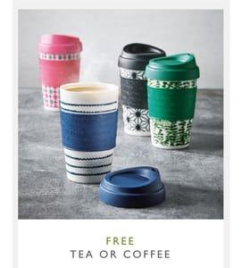 Free Tea or Coffee at Waitrose