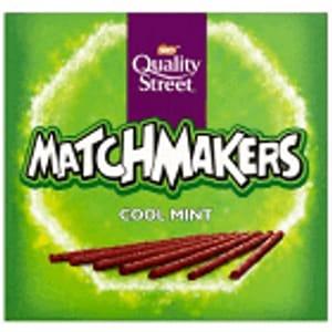 Quality Street Mint/Orange Matchmakers 120G