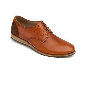 Nexus Men's Tri Color Genuine Waxi Leather Casual Lace up Shoe