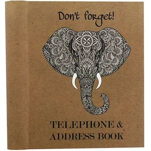 The Works Elephant Address and Cintact Book