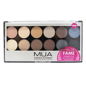 MUA Makeup Academy - Hall of Fame Palette - Mattes and Shimmers