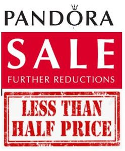 Pandora SALE - FURTHER REDUCTIONS - 50% off or MORE!
