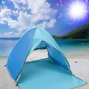 Pop up Beach Tent, Automatic Anti UV