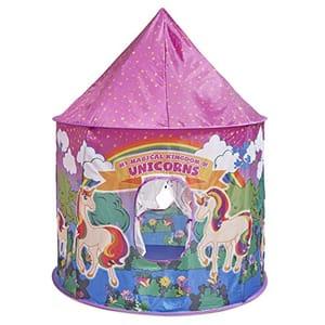 LIGHTNING DEAL Unicorn Pop up Play Tent