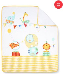 Mothercare Roll up Roll up Cot Bed Coverlet Only £5