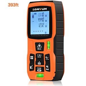 75% off 120m 393ft Laser Distance Meter