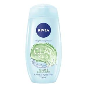 Nivea Clay Fresh Ginger & Basil Body Wash 250ml