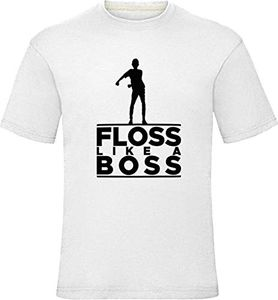 Floss like a Boss T-Shirt - White