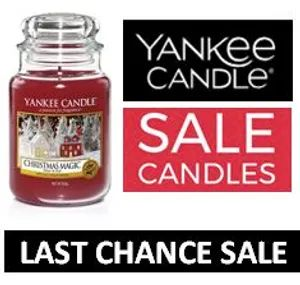YANKEE CANDLE LAST CHANCE SALE - up to 40% off NOW
