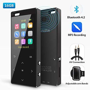 3,500 Songs in Your Pocket - Bluetooth MP3 Player (50% Off)