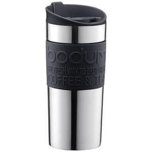 Bodum 11068-01 Vacuum Travel Mug, 0.35 L - Small, Black Only £9