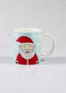 Polar Bear & Santa Christmas Mug