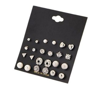 12 Piece Earring Set.