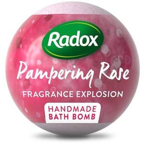 Radox Calming Lavender and Rose Bath Bombs 100G