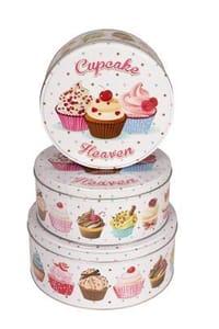3-Piece Cupcake Tin Set