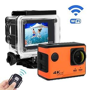 PEMENOL 4K Sports Action Camera Waterproof