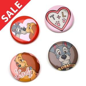 Disney Store 101 Dalmatian Pin Badges