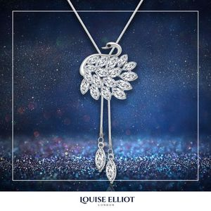 Free White Swan Necklace Valued at £268